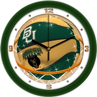 "Baylor Bears Slam Dunk 12"" Wall Clock"