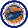 "Boise State Broncos Slam Dunk 12"" Wall Clock"