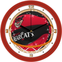 "Cincinnati Bearcats Slam Dunk 12"" Wall Clock"