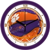 "Clemson Tigers Slam Dunk 12"" Wall Clock"