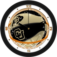 "Colorado Buffaloes Slam Dunk 12"" Wall Clock"