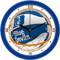 "Duke Blue Devils Slam Dunk 12"" Wall Clock"