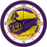 "East Carolina Pirates Slam Dunk 12"" Wall Clock"