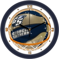 "Georgia Southern Eagles Slam Dunk 12"" Wall Clock"