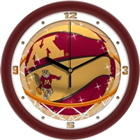 "Minnesota Golden Gophers Slam Dunk 12"" Wall Clock"