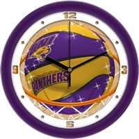 "Northern Iowa (UNI) Panthers Slam Dunk 12"" Wall Clock"