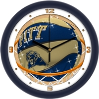 "Pittsburgh Panthers Slam Dunk 12"" Wall Clock"