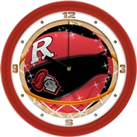 "Rutgers Scarlet Knights Slam Dunk 12"" Wall Clock"