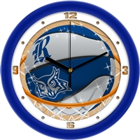 "Rice Owls Slam Dunk 12"" Wall Clock"