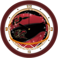 "San Diego State Aztecs Slam Dunk 12"" Wall Clock"