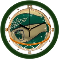 "South Florida Bulls Slam Dunk 12"" Wall Clock"