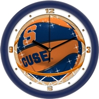 "Syracuse Orange Slam Dunk 12"" Wall Clock"