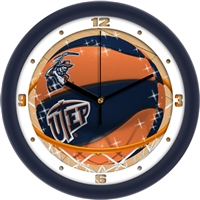 "UTEP Miners Slam Dunk 12"" Wall Clock"