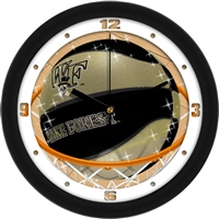 "Wake Forest Demon Deacons Slam Dunk 12"" Wall Clock"