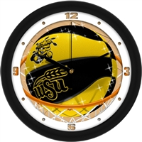 "Wichita State Shockers Slam Dunk 12"" Wall Clock"