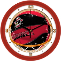 "Youngstown State Penguins Slam Dunk 12"" Wall Clock"