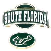 South Florida Bulls Slider Hat Clip Ball Marker