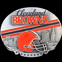 NFL Belt Buckle - Cleveland Browns