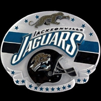Jacksonville Jaguars 3D Sculpted NFL Belt Buckle