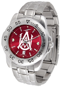 Alabama A&M Bulldogs Sport Steel Watch - AnoChrome Dial