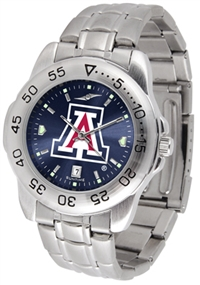 Arizona Wildcats Sport Steel Watch - AnoChrome Dial