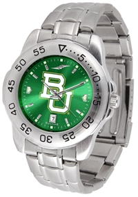 Baylor Bears Sport Steel Watch - AnoChrome Dial