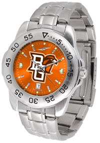 Bowling Green Falcons Sport Steel Watch - AnoChrome Dial