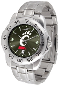 Cincinnati Bearcats Sport Steel Watch - AnoChrome Dial