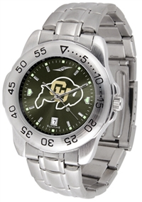 Colorado Buffaloes Sport Steel Watch - AnoChrome Dial