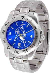 Duke Blue Devils Sport Steel Watch - AnoChrome Dial