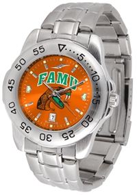 Florida A&M Rattlers Sport Steel Watch - AnoChrome Dial