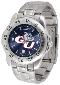 Gonzaga Bulldogs Sport Steel Watch - AnoChrome Dial