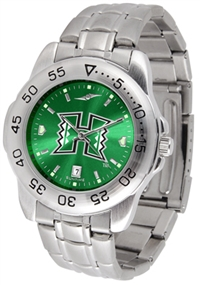 Hawaii Warriors Sport Steel Watch - AnoChrome Dial