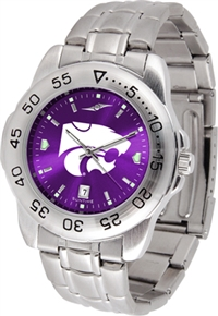 Kansas State Wildcats Sport Steel Watch - AnoChrome Dial