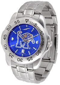 Memphis Tigers Sport Steel Watch - AnoChrome Dial