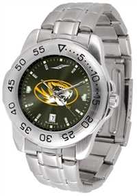 Missouri Tigers Sport Steel Watch - AnoChrome Dial