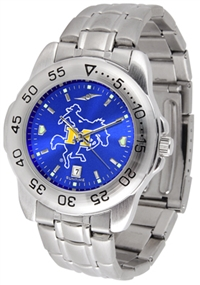 McNeese State Cowboys Sport Steel Watch - AnoChrome Dial