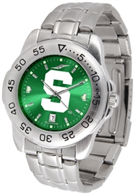 Michigan State Spartans Sport Steel Watch - AnoChrome Dial