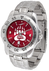 Montana Grizzlies Sport Steel Watch - AnoChrome Dial