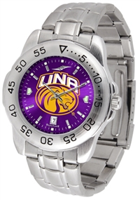 North Alabama Lions UNA Sport Steel Watch - AnoChrome Dial
