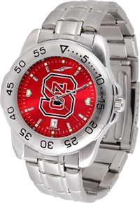North Carolina State Wolfpack Sport Steel Watch - AnoChrome Dial