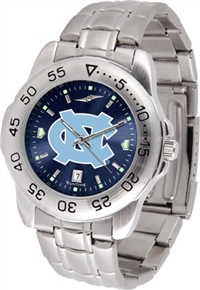 North Carolina Tarheels Sport Steel Watch - AnoChrome Dial