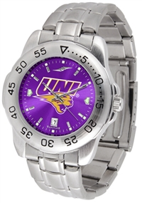 Northern Iowa Panthers Sport Steel Watch - AnoChrome Dial