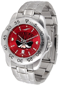 UNLV Runnin' Rebels Sport Steel Watch - AnoChrome Dial