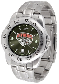 New Mexico Lobos Sport Steel Watch - AnoChrome Dial