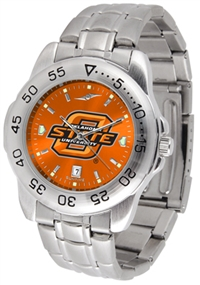 Oklahoma State Cowboys Sport Steel Watch - AnoChrome Dial