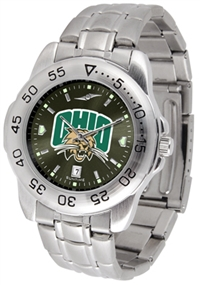 Ohio Bobcats Sport Steel Watch - AnoChrome Dial