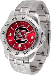South Carolina Gamecocks Sport Steel Watch - AnoChrome Dial