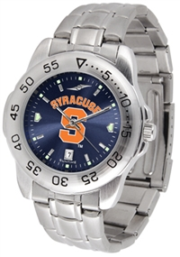 Syracuse Orangemen Sport Steel Watch - AnoChrome Dial