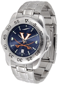 Virginia Cavaliers Sport Steel Watch - AnoChrome Dial